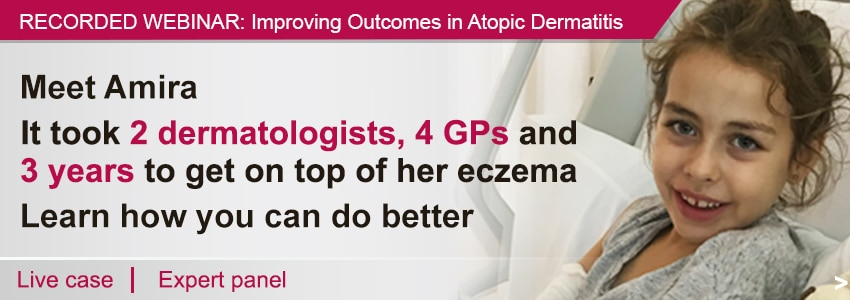 Recorded Webinar. IMPACT: Improving Outcomes in Atopic Dermatitis