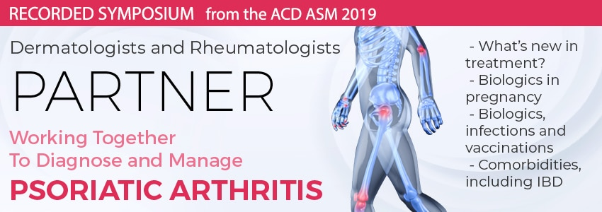 PARTNER: Working Together to Diagnose and Manage Psoriatic Arthritis.
