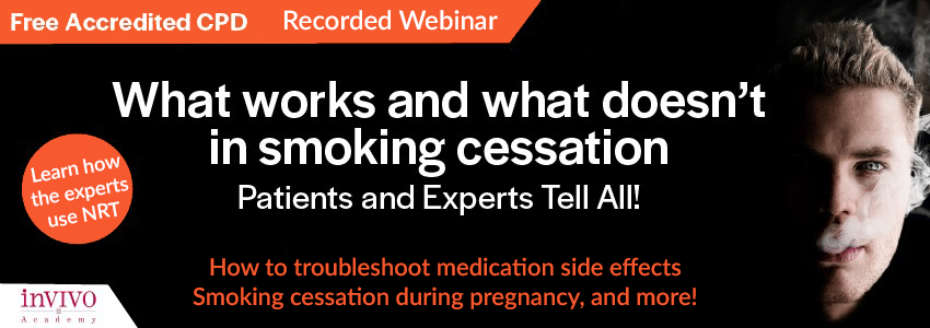 What works and what doesn't in smoking cessation. Patients and Experts tell all! (Recorded webinar)